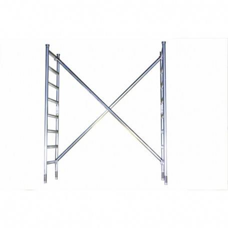 Räcke till toppen av hantverkarställning 74 x 250 cm. 3000-074250  tillbehör