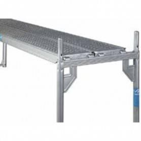 Byggstaket 3,5 m galvaniserad stål. 8900-350200  Byggstaket