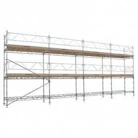 Unihak Fotlistlås 8000-100  Byggnadsställningar
