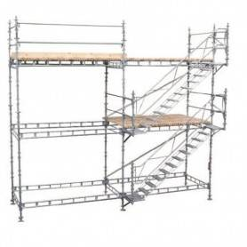 Unihak längdbalk 360 cm. 8150-360  Längd/Tvärbalk